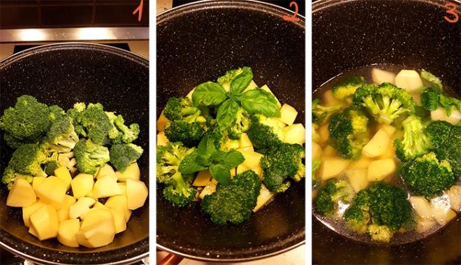 Supe krem me brokoli 1
