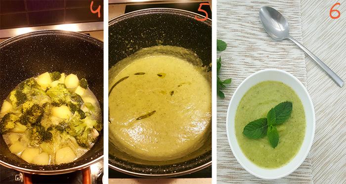 Supe krem me brokoli 2