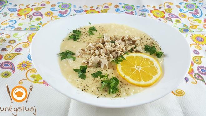 Supe me veze dhe limon