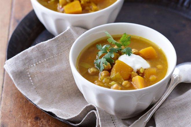 Supe me qiqra dhe kungull